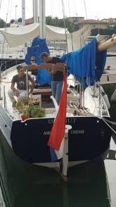 #sailing #classic #schooner #sciarrelli Il Dragut è uno schooner bermudiano, progettato da Carlo Sciarrelli e terminatonel 1985 dal maestro d'ascia Piero Crosato, a Roncade (TV), interamente in legno di cedro ed alberi in spruce. Il…