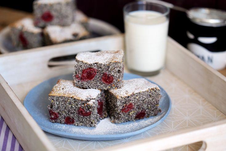 Isteni mákos-meggyes süti • Fördős Zé Magazin