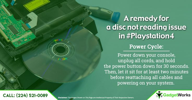 A simple solution for a simple issue of the disc not reading!  If the problem still persists bring it over to the store visit: http://www.mygadgetworks.com/product/sony-playstation-4-drive-replacement/  #playstation4 #glitch #repairservice #illionis #glenvie