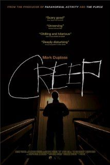 "Super creepy, indeed! CREEP (2014) ""When a videographer answers a Craigslist ad for a one-day job in a remote mountain town, he finds his client is not at all what he initially seems."" #horror #movies #films"