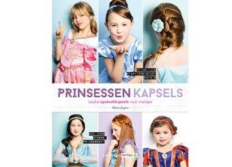 Verjaardag 2015 inspirerend handboek 'Prinsessenkapsels' Lannoo | kinderen-shop Kleine Zebra