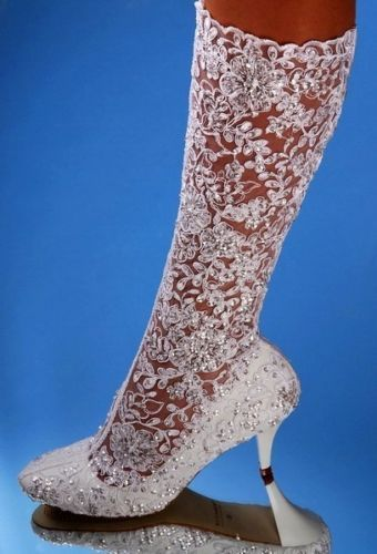 European Exclusive Wedding Shoes For The Brides