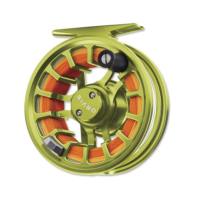 Casters Fly Shop - Orvis Hydros SL Fly Reel - Citron, $198.00 (http://www.castersonlineflyshop.com/orvis-hydros-sl-fly-reel-citron/)