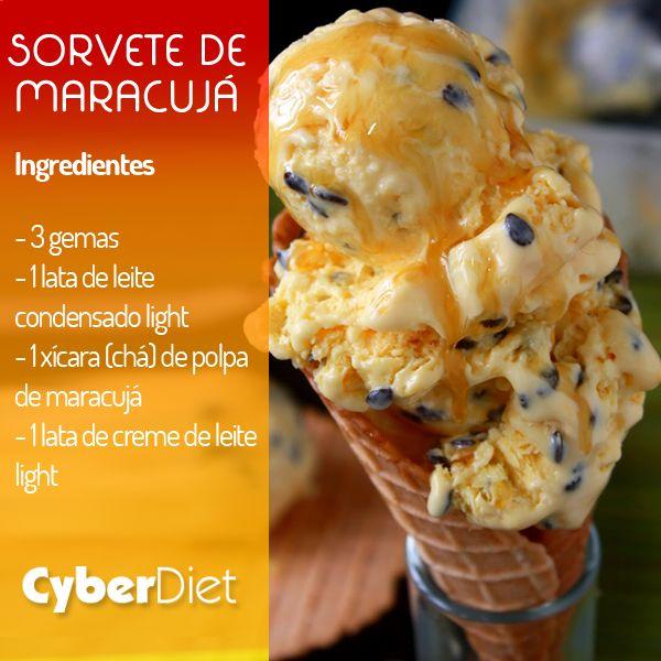 Sorvete light de maracujá! http://maisequilibrio.com.br/sorvete-de-maracuja-light-8-2-7-701.html