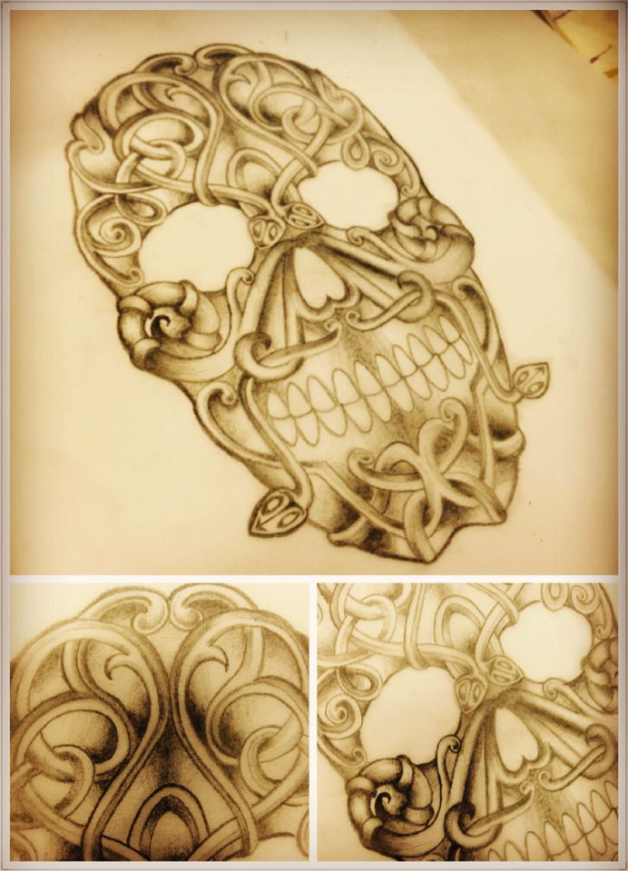 1000 images about tattoos on pinterest horns norse for Viking skull tattoo