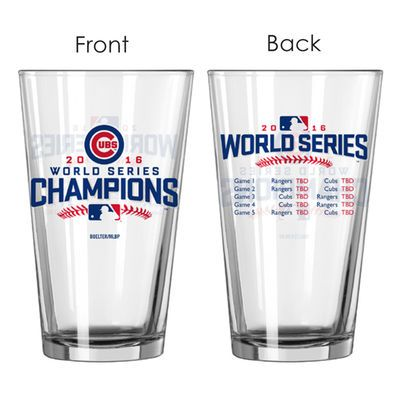 Chicago Cubs 2016 World Series Champions 16oz. Summary Pint