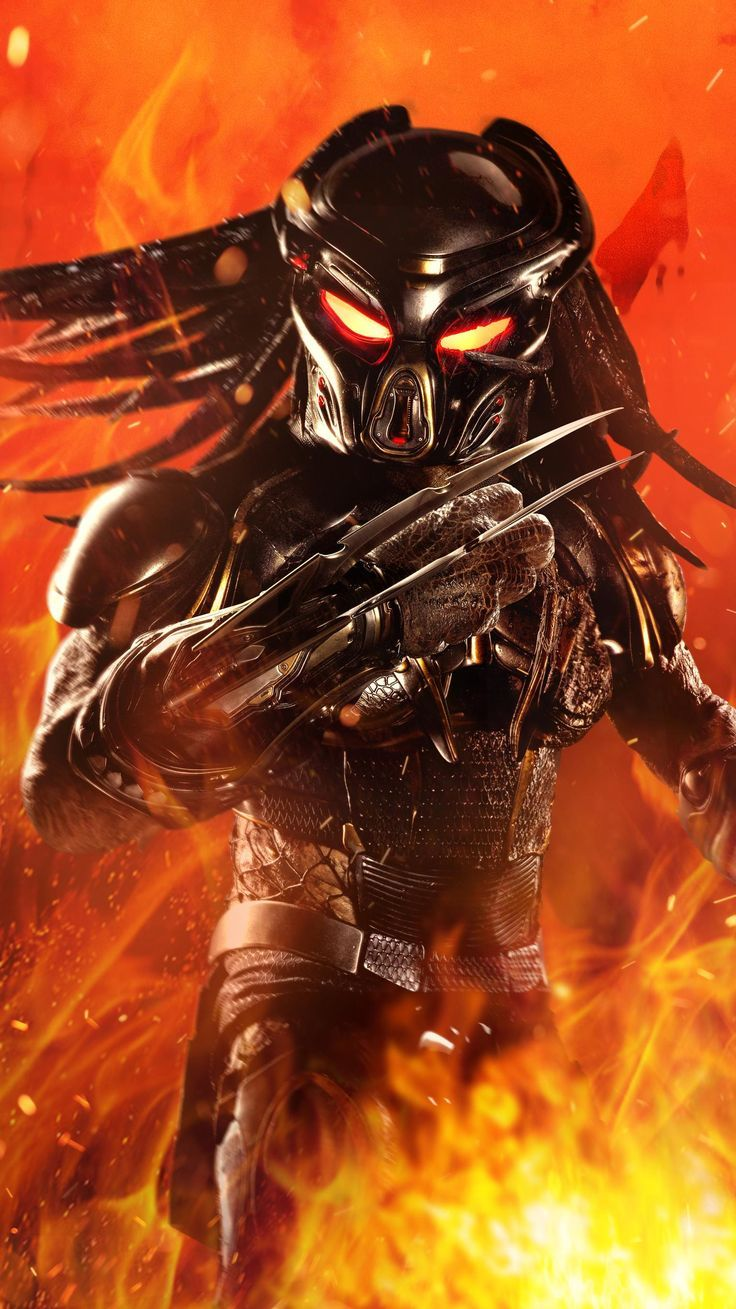 The Predator 2018 Phone Wallpaper Moviemania Predator Movie Predator Alien Art Predator Artwork