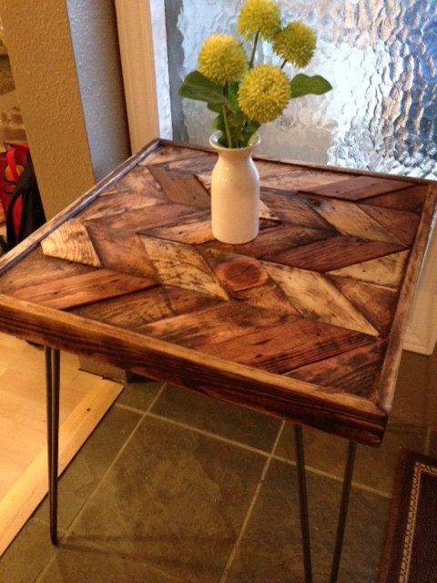 Review Items similar to Reclaimed Wood Coffee Table on Etsy For Your House - Fresh how to make a wooden table Photos