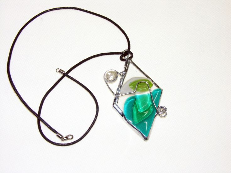 hand made fusing glass jewellery