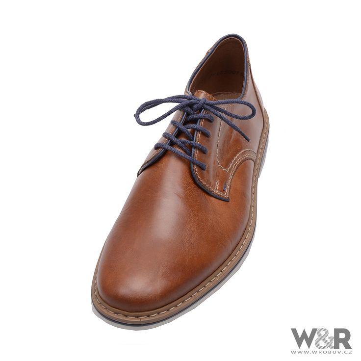 Pánská obuv RIEKER B1422/25 BRAUN F/S 16 | WR Obuv