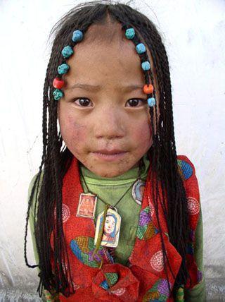 Retrato China Tibet.