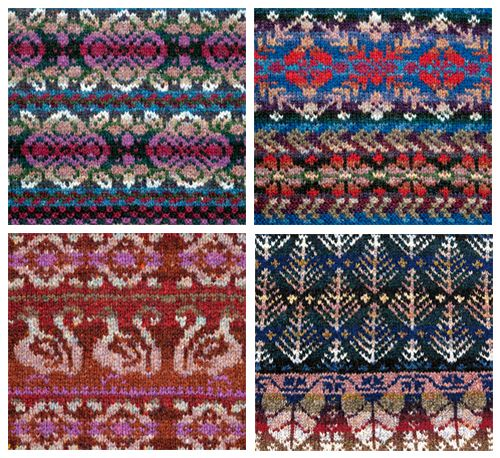Fair Isle patterns by Alice Starmore