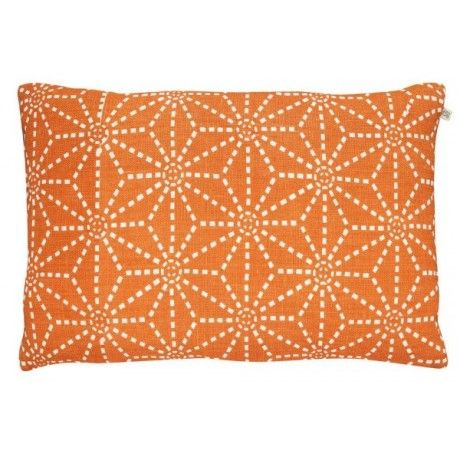 Star Jaffa Orange Cushion - Trouva
