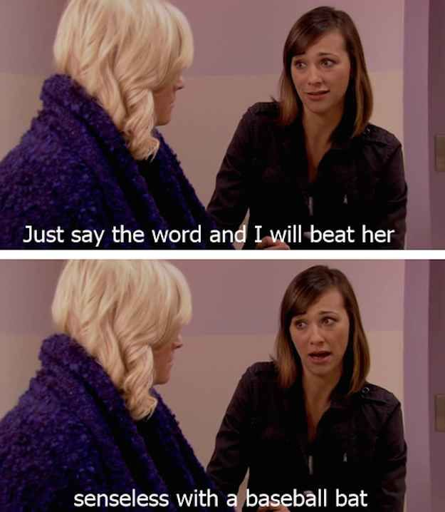 """And she's the refreshingly devoted kind of friend everyone wants around. 