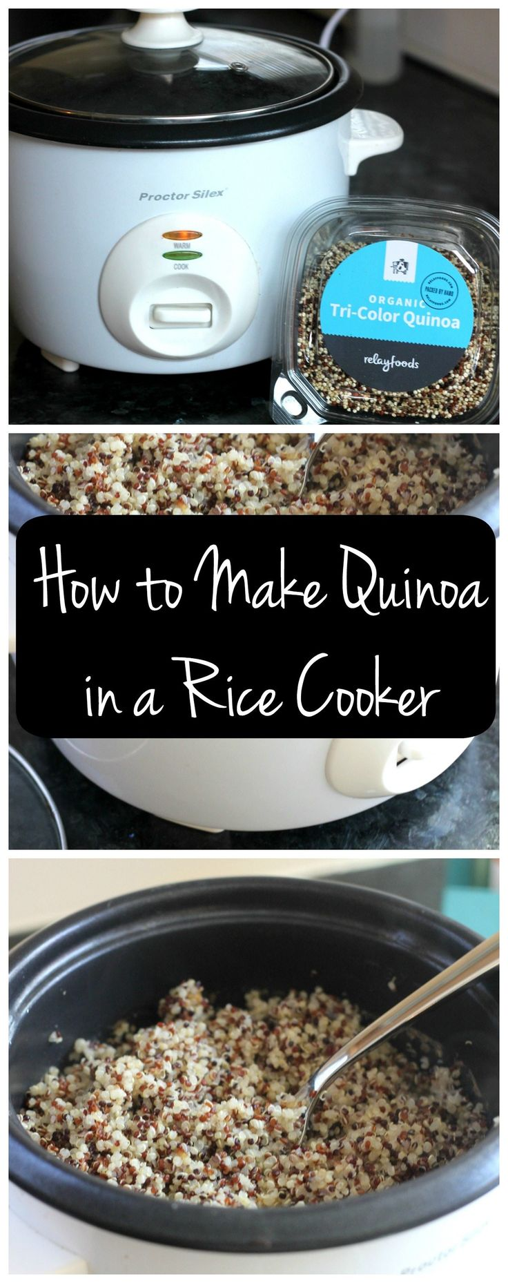 Did You Know You Can Use Your Rice Cooker For Cooking Quinoa? Yes! Here's