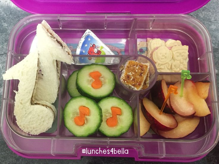 #lunches4bella dance concert day lunch in Yumbox