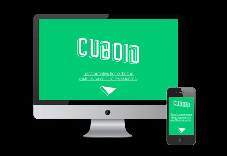 Website design for home theatre specialist Cuboid. Inspired by a Kubrick classic.