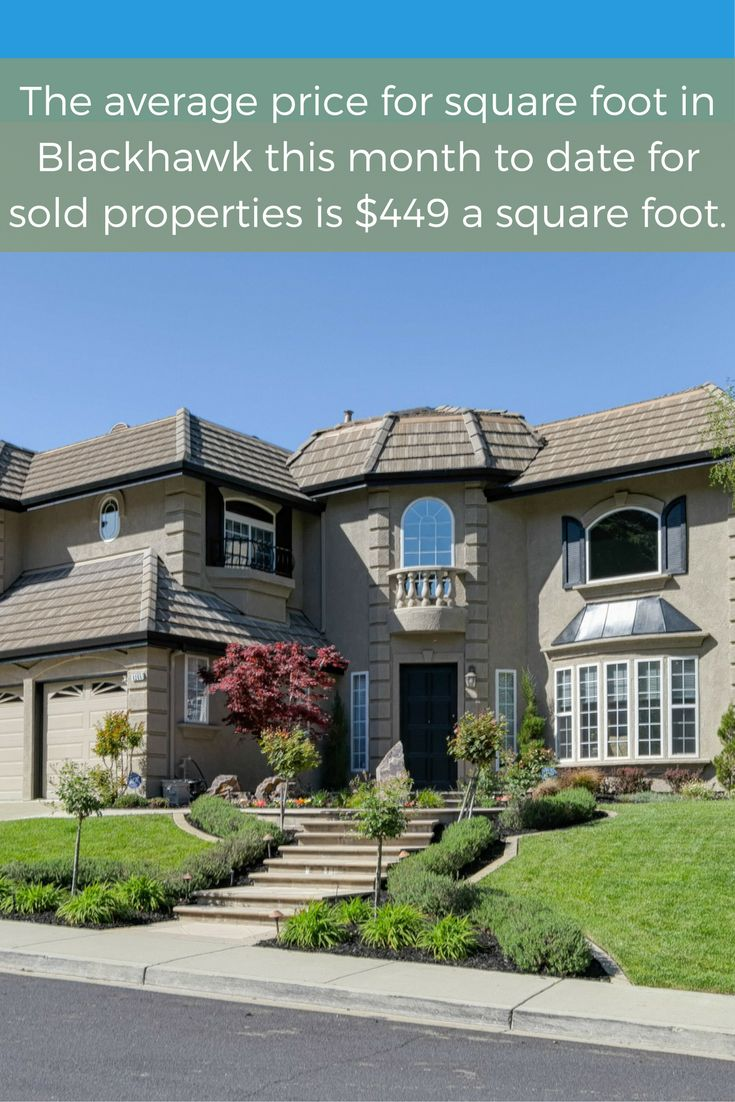 Check out the latest market report from Blackhawk CA!
