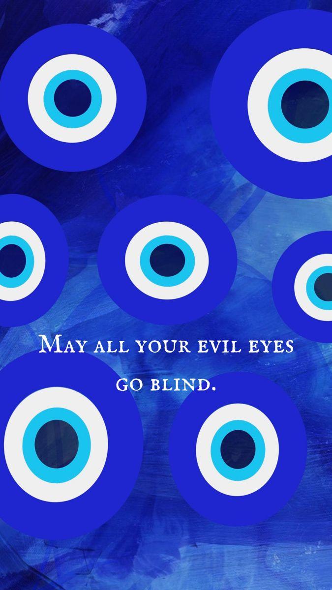 Evil Eye   Nazar   iPhone background in 21   Eyes wallpaper ...
