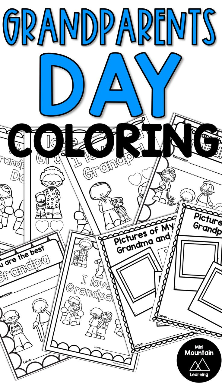Grandparents Day Coloring Pages Grandparents day