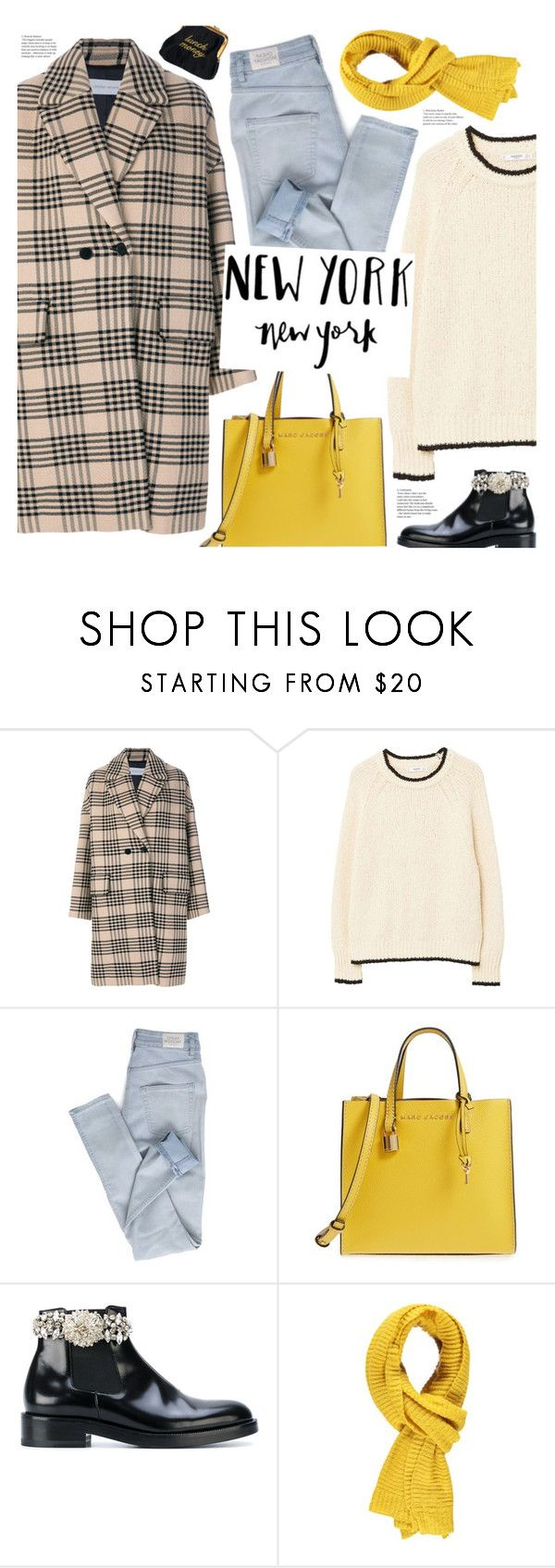 """""""new york, new york"""" by valentino-lover on Polyvore featuring Christian Wijnants, MANGO, Cheap Monday, Marc Jacobs, Christopher Kane and Forever 21"""