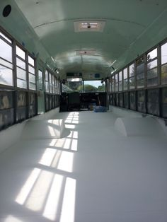 Very detailed diary of this couple's changes to their bus, posted on none other than Skoolie!