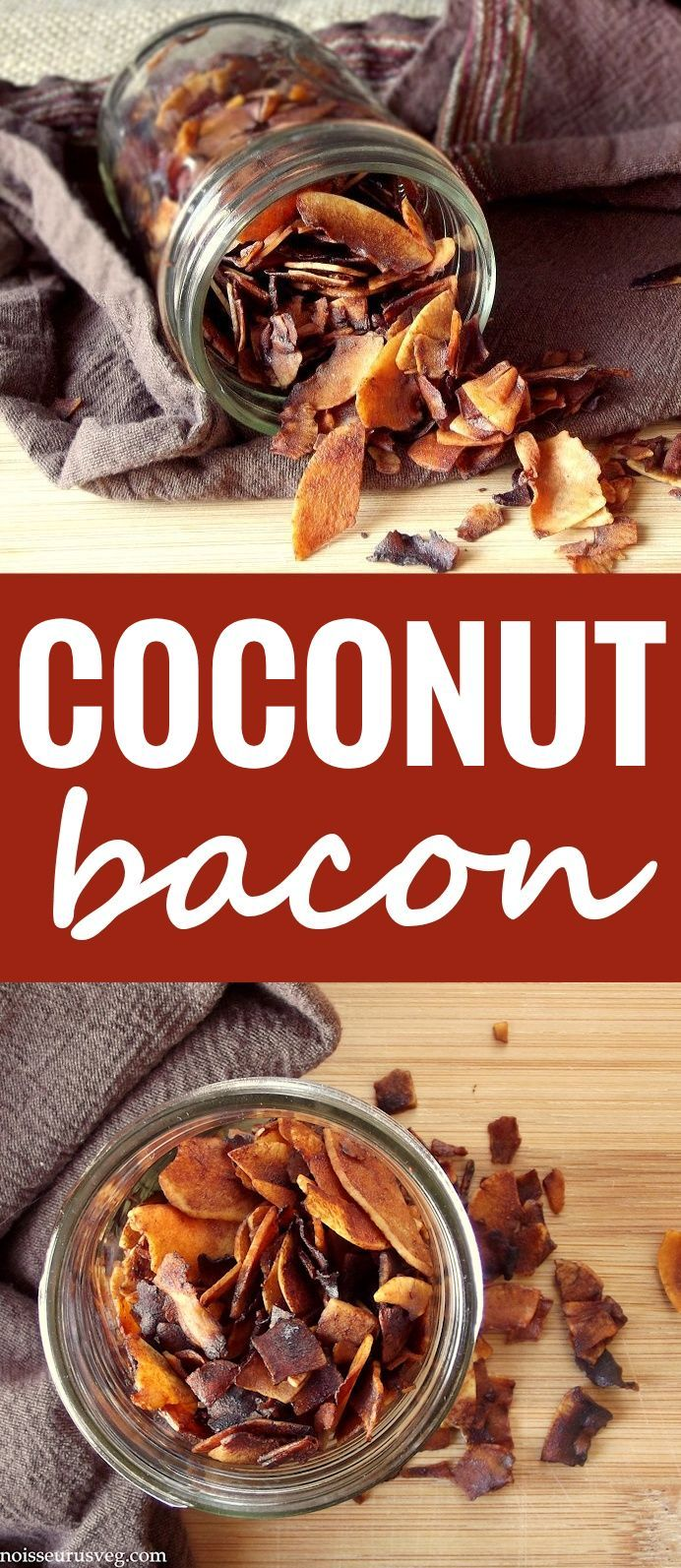 Coconut Bacon (for AIP sub coconut aminos for soy sauce and omit paprika).