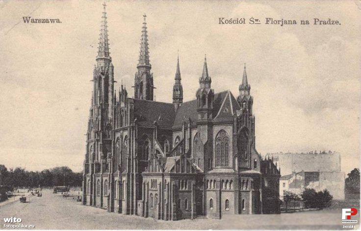 Old Warsaw postcard.