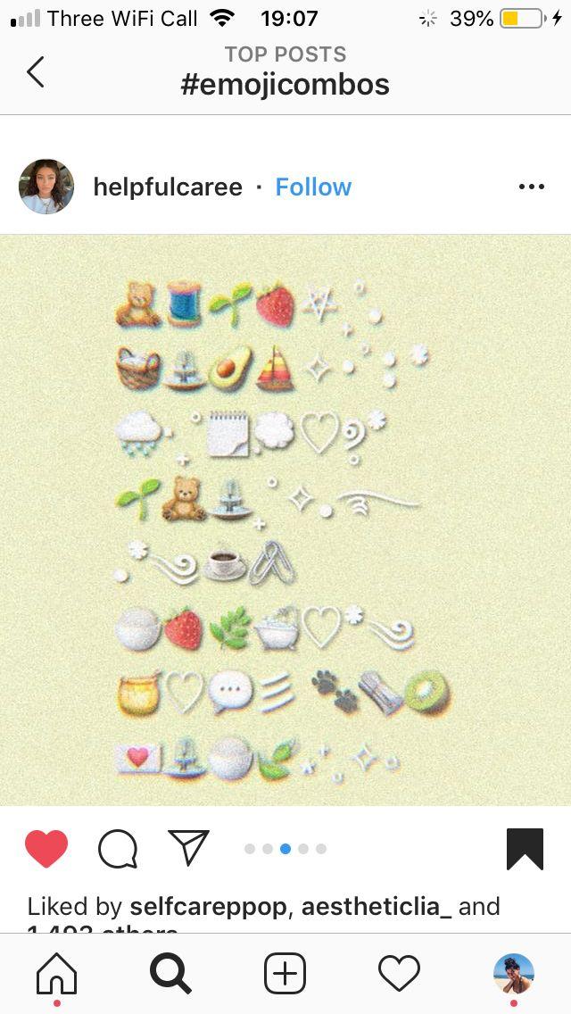 Aesthetic Emoji Combos Brown