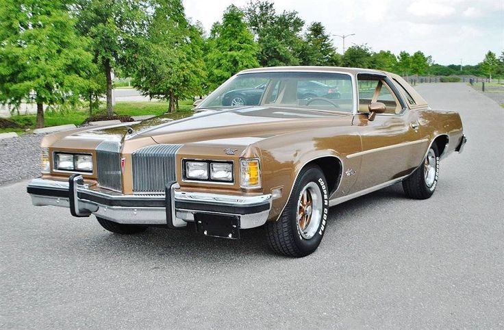 1976 Pontiac Grand Prix Maintenance/restoration of old/vintage vehicles: the material for new cogs/casters/gears/pads could be cast polyamide which I (Cast polyamide) can produce. My contact: tatjana.alic14@gmail.com