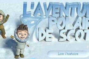livre interactif ipad - scott aventure polaire