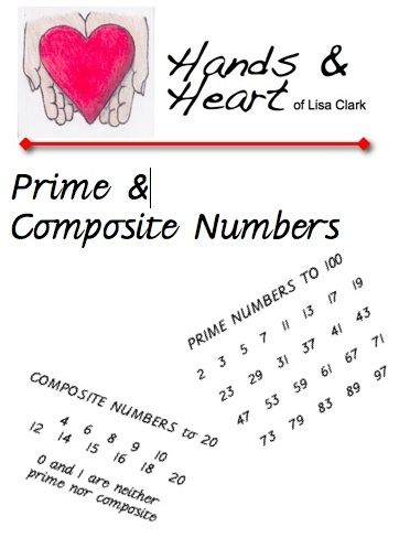 Free Math Worksheets Prime And Composite Numbers Math Pinterest