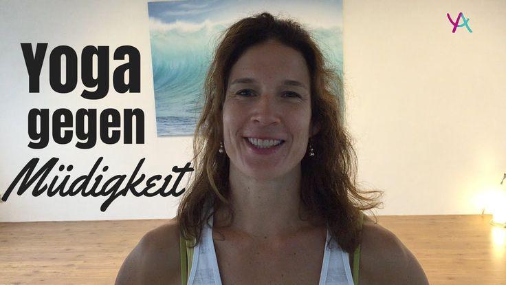 Yoga Übungen mit Yogalexa: Yoga gegen Müdigkeit
