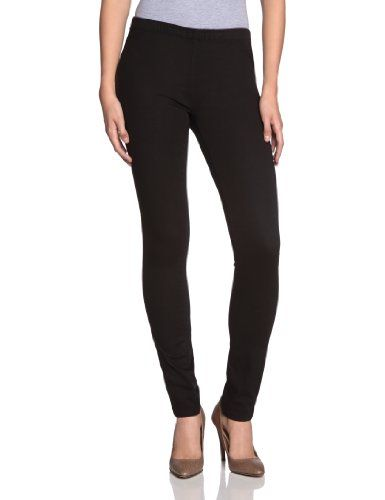 PIECES Damen Legging, 17033156, Gr. 38/40 (M/L), Schwarz (BLACK.)