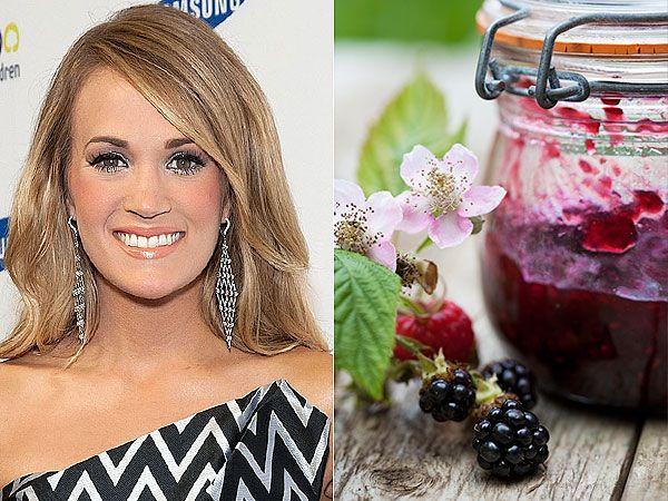 Make Carrie Underwood's Fresh Blackberry Jam http://greatideas.people.com/2014/07/09/carrie-underwood-blackberry-jam-recipe/