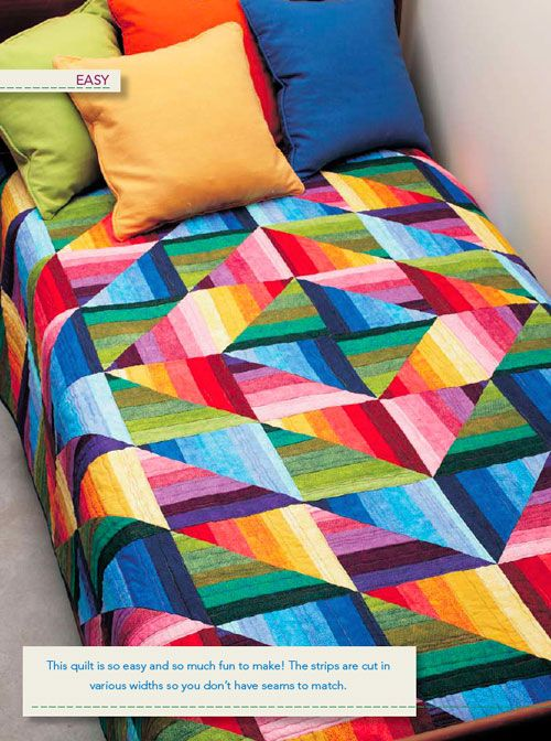 - Strata Quilt Digital Pattern