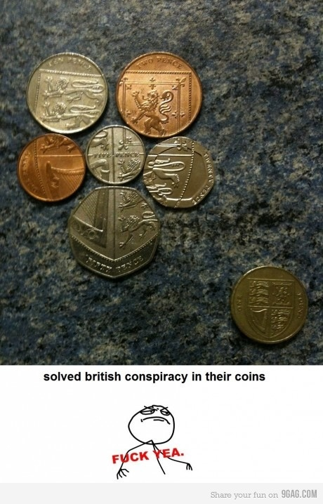 Solved british conspiracy - brilliant currency