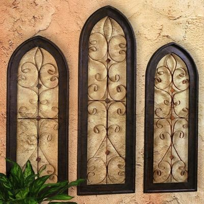 Tuscan Door Wall Grille for kitchen pantry door