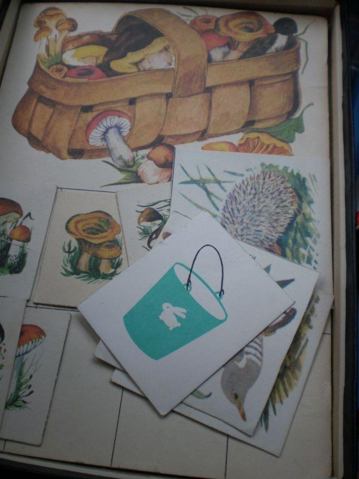 Лото (животные). Настольные игры СССР - http://samoe-vazhnoe.blogspot.ru/ #игры_животные