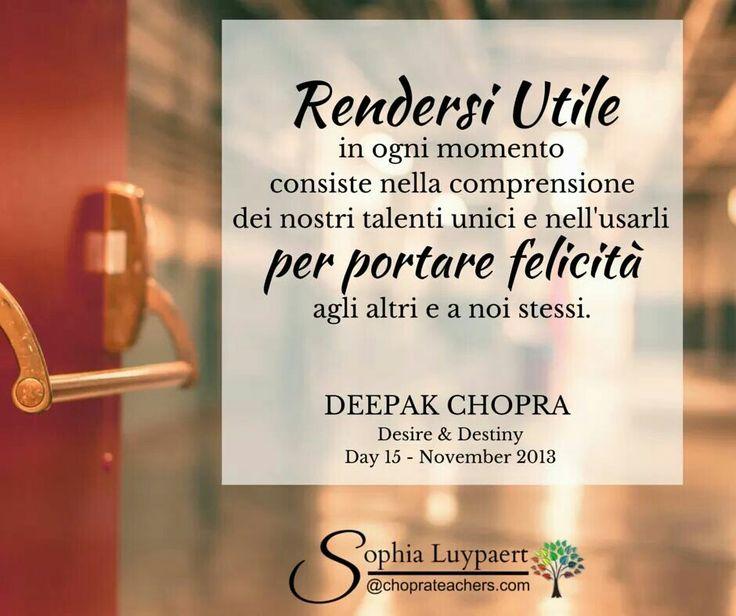 Giorno 15 - Come posso essere utile? http://on.fb.me/1M3nzAF