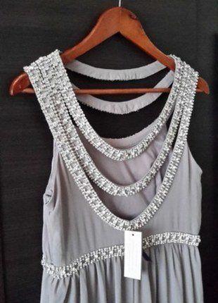 Kup mój przedmiot na #vintedpl http://www.vinted.pl/damska-odziez/sukienki-wieczorowe/15792221-tfnc-london-sukienka-maxi-zdobiona-wesele-studniowka-embellished-maxidress-tfnc