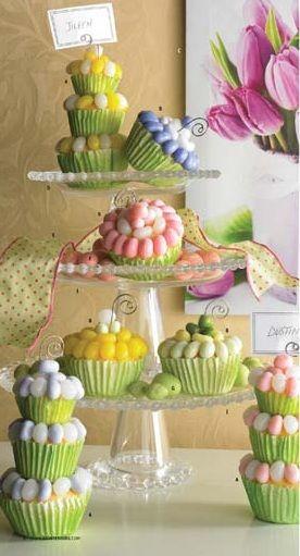 Jellybean Cupcakes