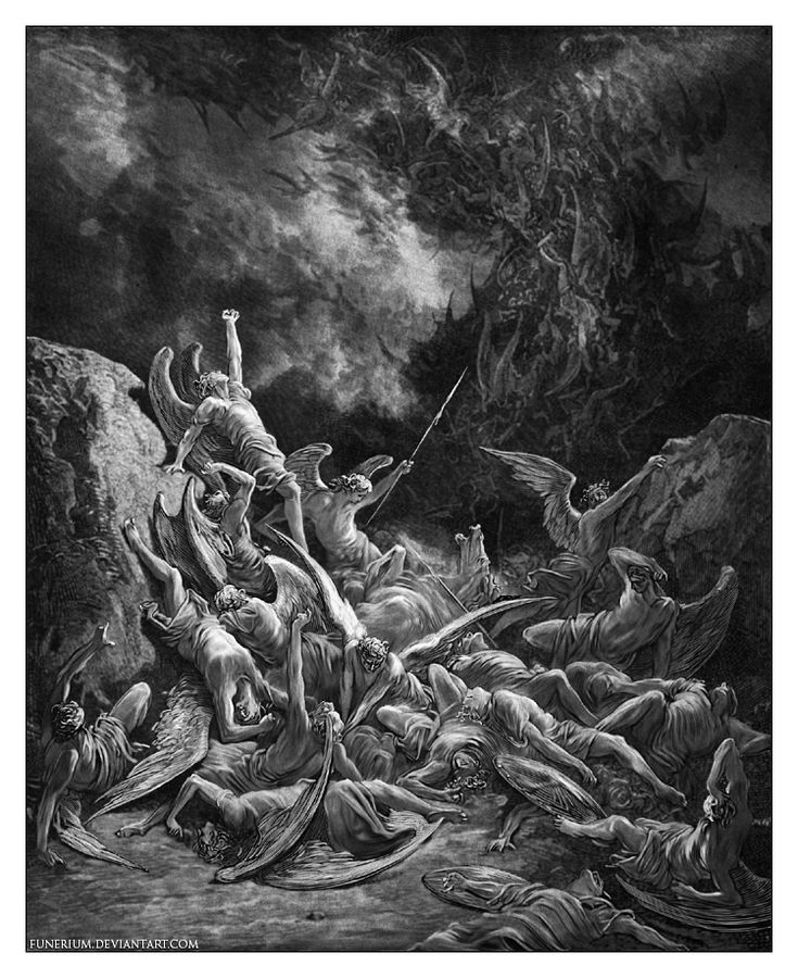 Fall of the Rebel Angels by Funerium.deviantart.com