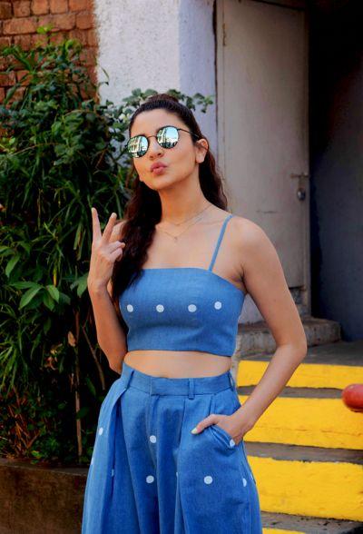 Anushka Sharma snapped at Mehboob Studio in Mumbai