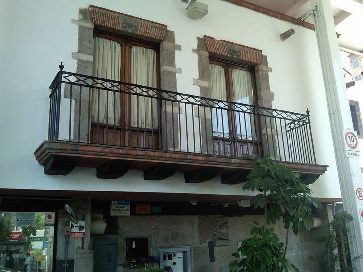 Balcones de cantera tipo mexicano