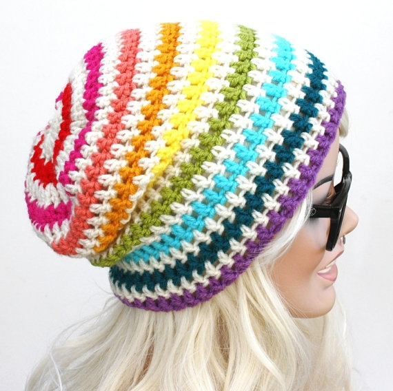 Crochet Slouch Beanie - DIY THIS!