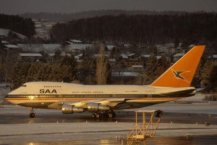 SAA 747-SP ZS-SPF Soutpansberg