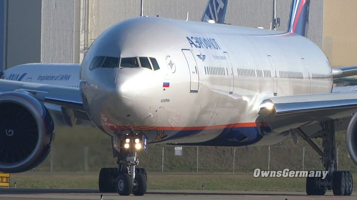 Test Flight Aeroflot Boeing 777 VQ-BQB TakeOff + Landing @ KPAE Paine Field