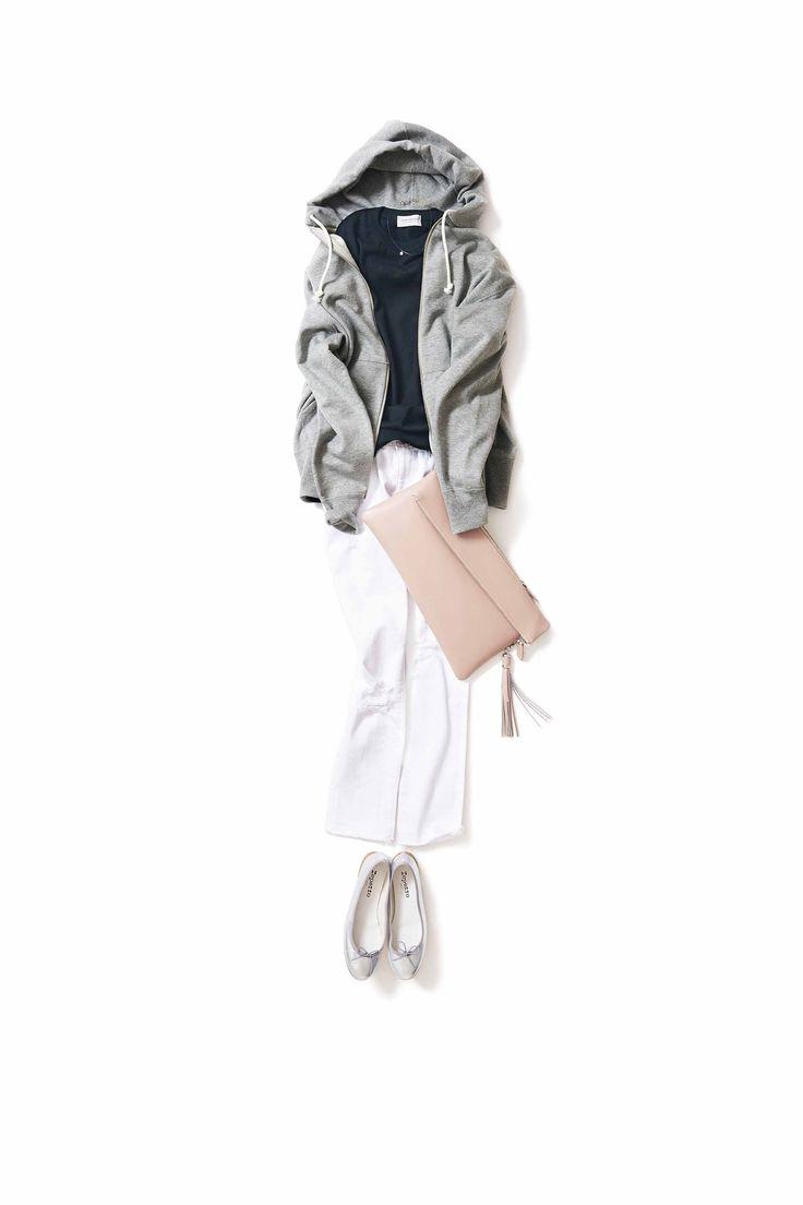 ジェンダーレスなスタイルに 甘さのエッセンスを少し / コーディネート詳細 / Kyoko Kikuchi's Closet | 菊池京子のクローゼット [ K.K closet ]