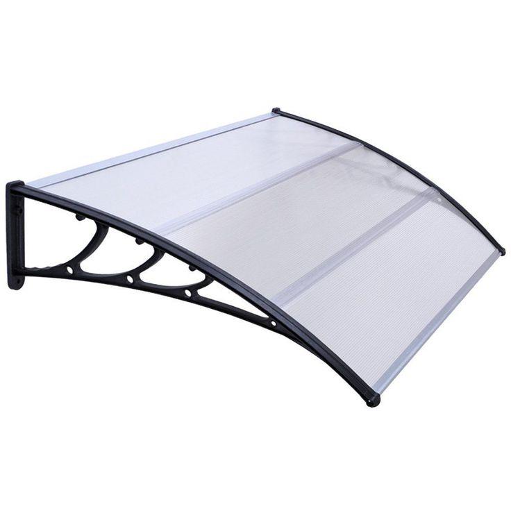 6.2ft Front Back Door Window Rain Canopy Awning Porch Shelter Garden Patio Cover in Home, Furniture & DIY, DIY Materials, Doors & Door Accessories   eBay